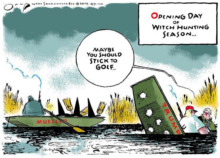 Editorial cartoon by Jack Ohman #Donald #Trump #DonaldTrump #Mueller #MuellerTime #MuellerIsComing #MuellerInvestigation #RussianCollusion<br>http://pic.twitter.com/t0xiGOwpJB