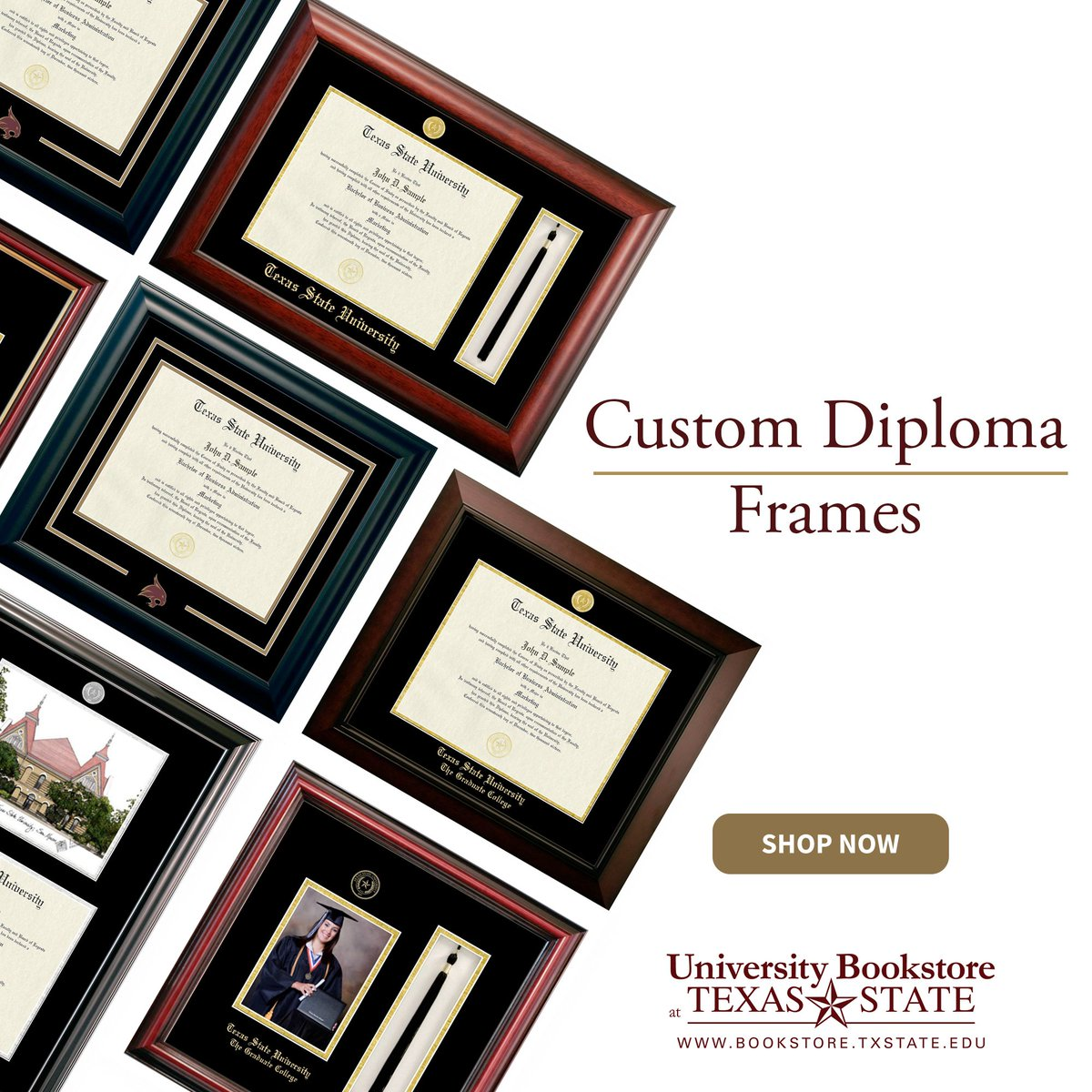 Unique University Of Texas Diploma Frame Collection - Frame Photo ...