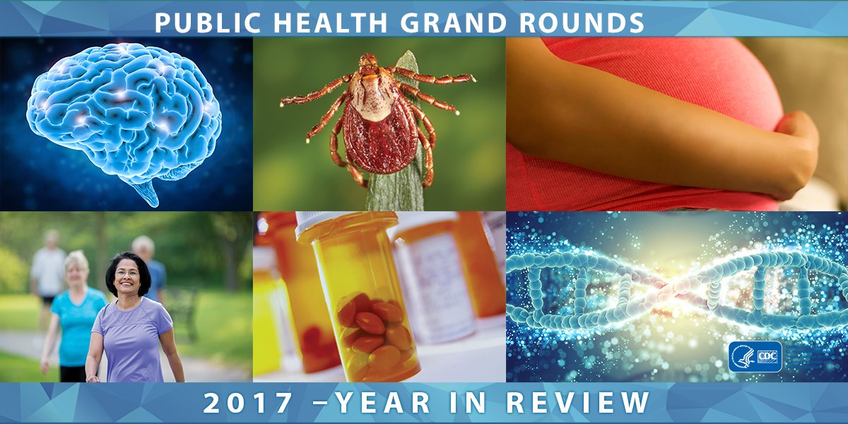 NEW #CDCGrandRounds video: See highlights from our 2017 sessions and #BeyondtheData interviews. See a recap on topics including ALS, opioid use in women, tickborne diseases, and much more. https://t.co/9uZCgFnr8s