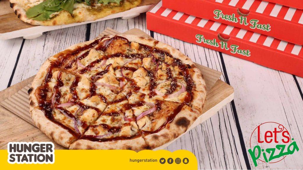 الويكند لمّة واللمّة لتس بيتزا! 😍🍕 موجودين في #هنقرستيشن يوصلون لكم أطيب بيتزا حطب!😋 https://t.co/w33HA8Vswh