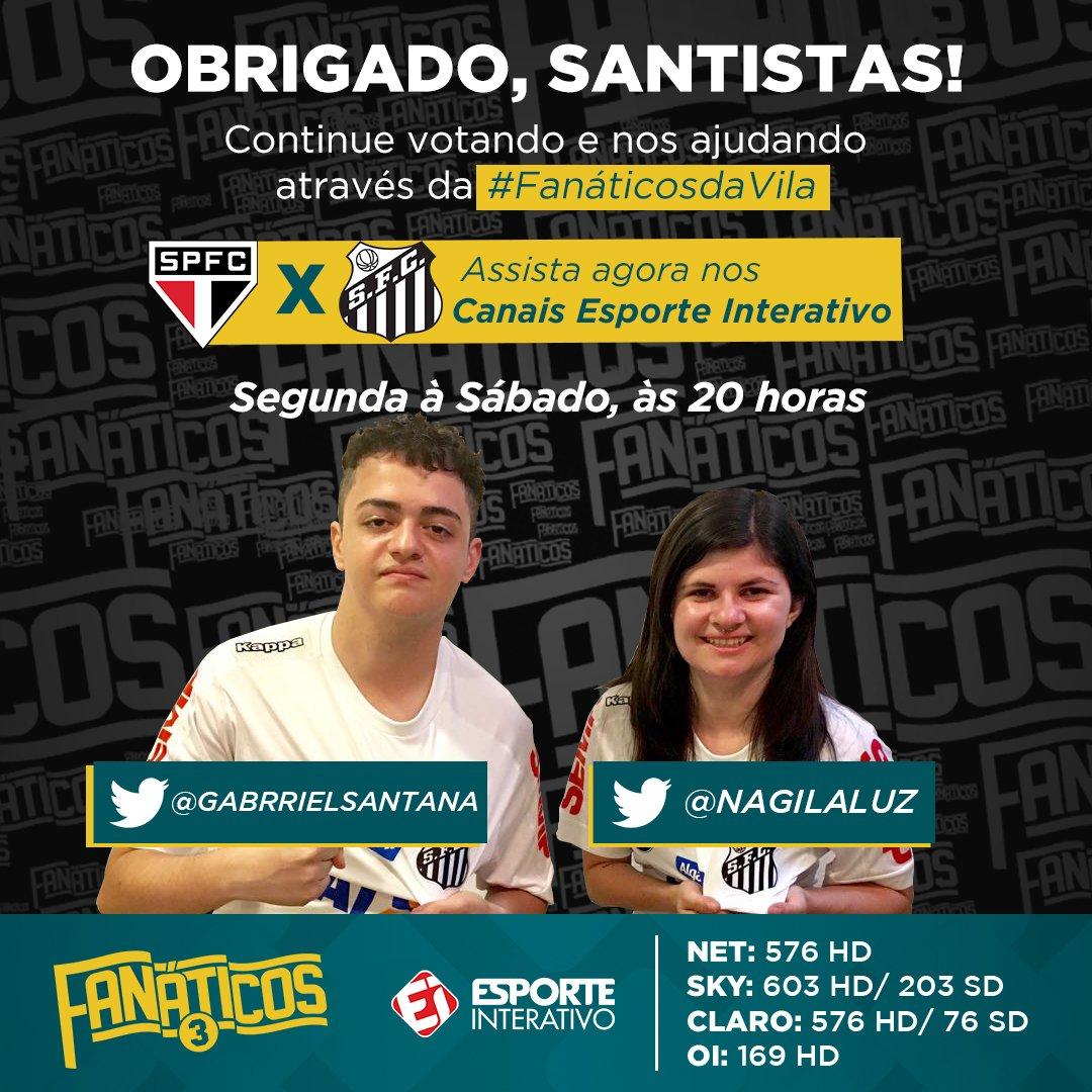 @Le_Fregatto Ajude a dupla do @SantosFC através da #FanáticosDaVila! E também se inscreva no canal do Fanáticos https://t.co/XHiKG8Hbk7
