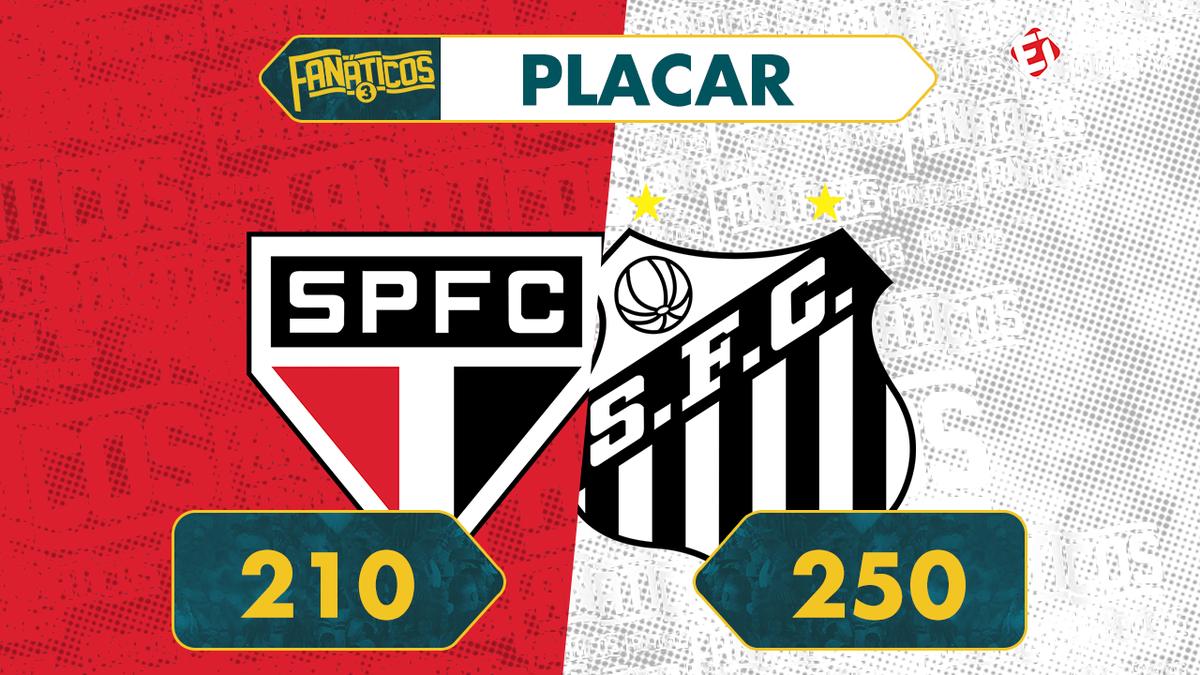 QUE VITÓRIA DO #FANÁTICOSDAVILA! Contra a ótima dupla do #FanáticosSãoPaulo, a parceria do @SantosFC se superou e está CLASSIFICADA para a próxima fase da maior disputa entre torcedores do país!