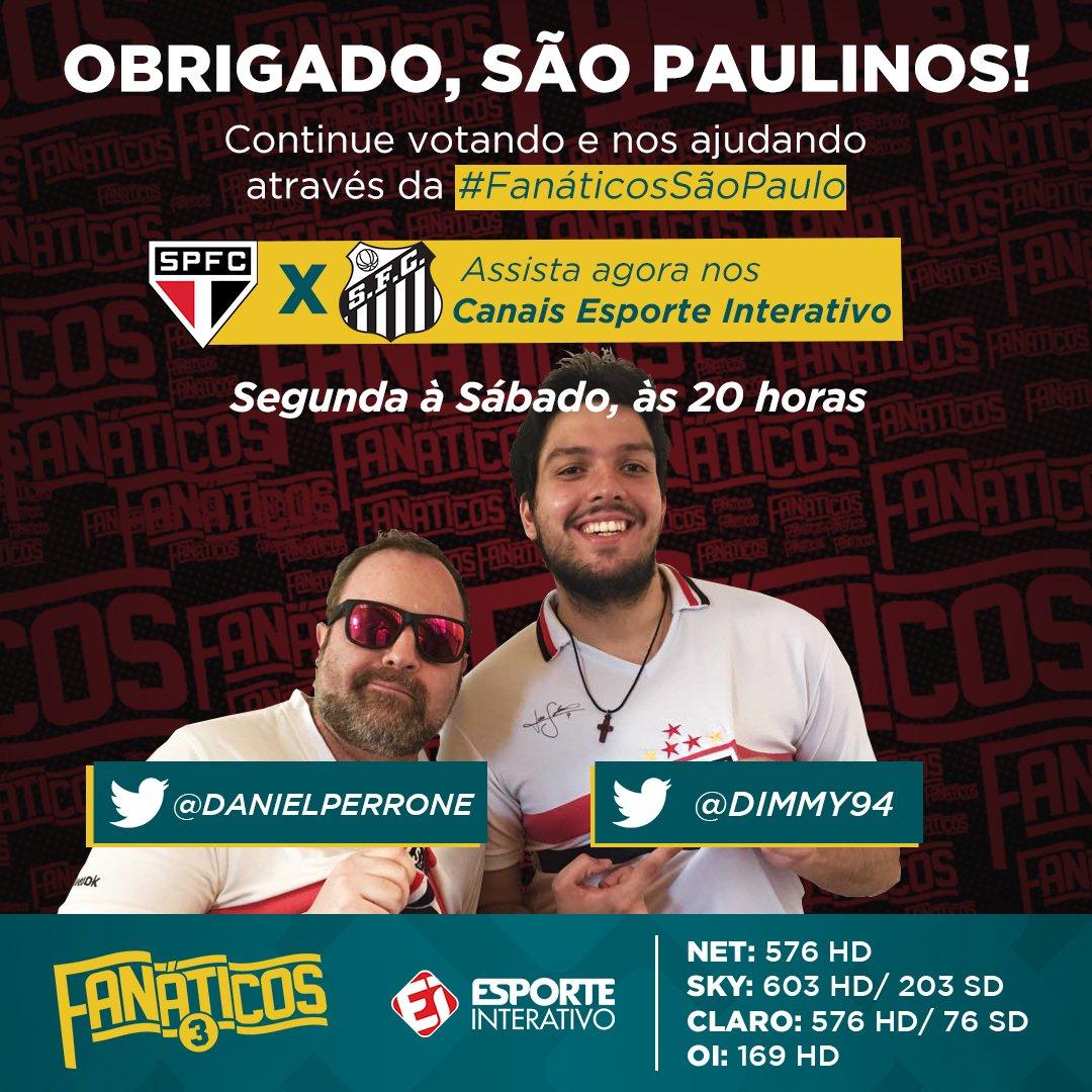 @theuscosta18 Ajude a dupla do @SaoPauloFC  através d #FanáticosSãoPauloa ! E se inscreva no canal do Fanátichttps://t.co/XHiKG8Hbk7os  https://t.co/