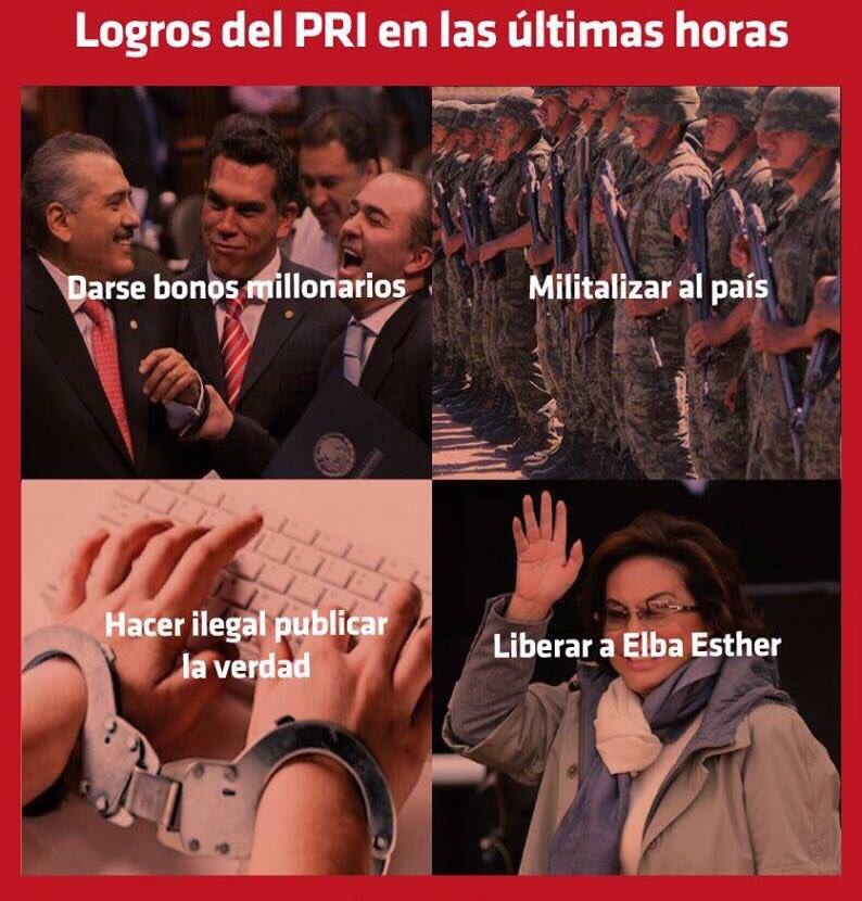 Así. #NiUnVotoAlPRI