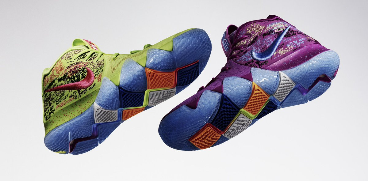 Find your groove. The new Nike #Kyrie4