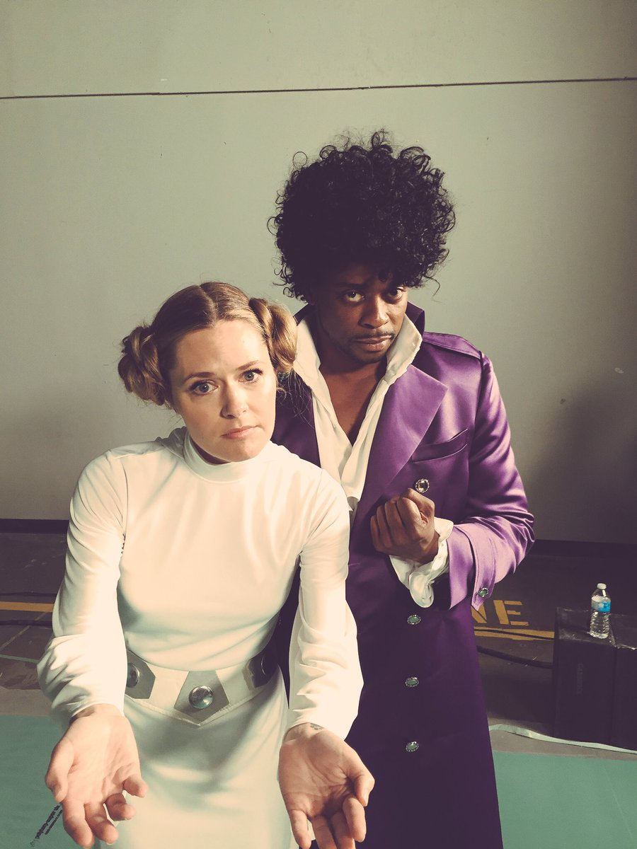 A Prince & A Princess #TBT #PsychTheMovie @MaggieLawson @Psych_USA https://t.co/IHnCps0UvQ