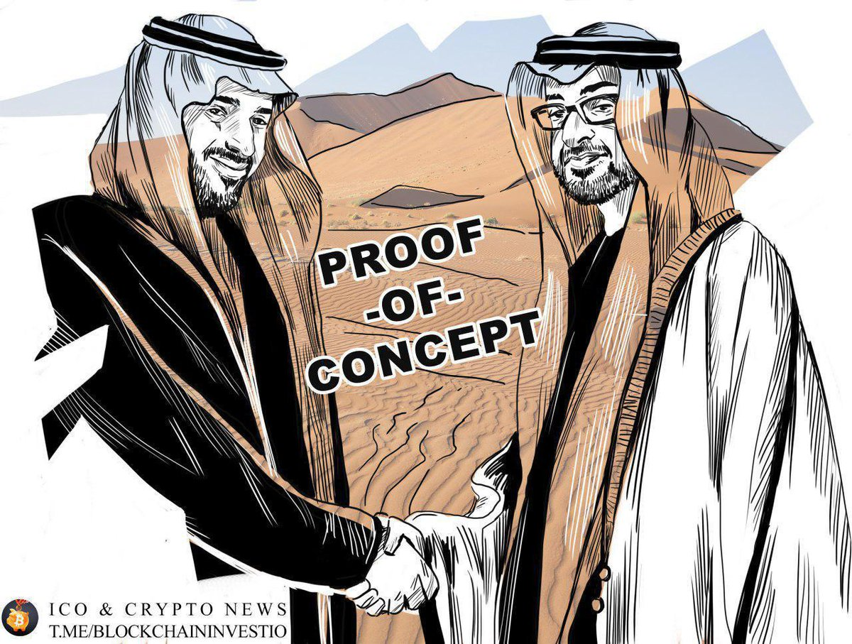 The central banks of the UAE and Saudi Arabia are working on a joint cryptocurrency More info:  https:// telegram.me/blockchaininve stio &nbsp; …  #cryptocurrency #UAE #Cryptotwitter #Crypto<br>http://pic.twitter.com/i2R5zl3oSd