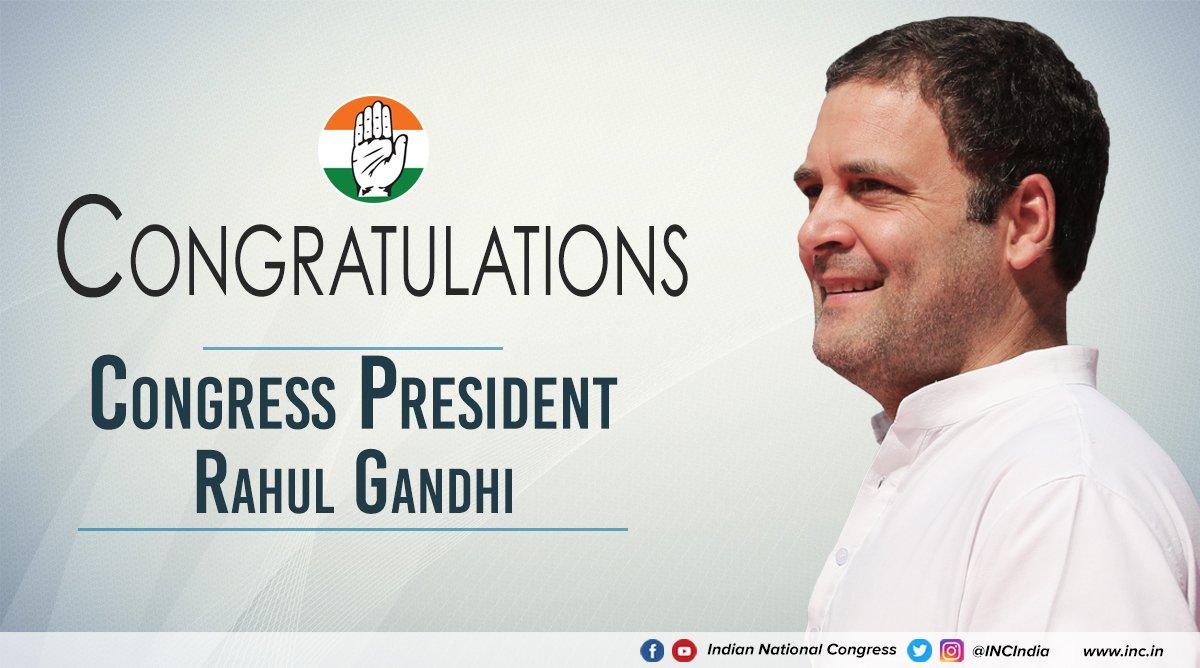 Together, forward, we go. #CongressPresi...
