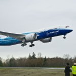 #OTD in 2009 the first 787#Dreamliner took to the skies!  Today there are more than 600 787s in service. #Boeing