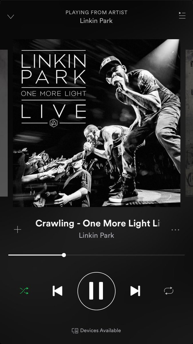 RT @wessjargo: If you were a fan of Linkin Park, listen to this album...nothing but chills. RIP Chester❤️ https://t.co/PDnhld3FAP