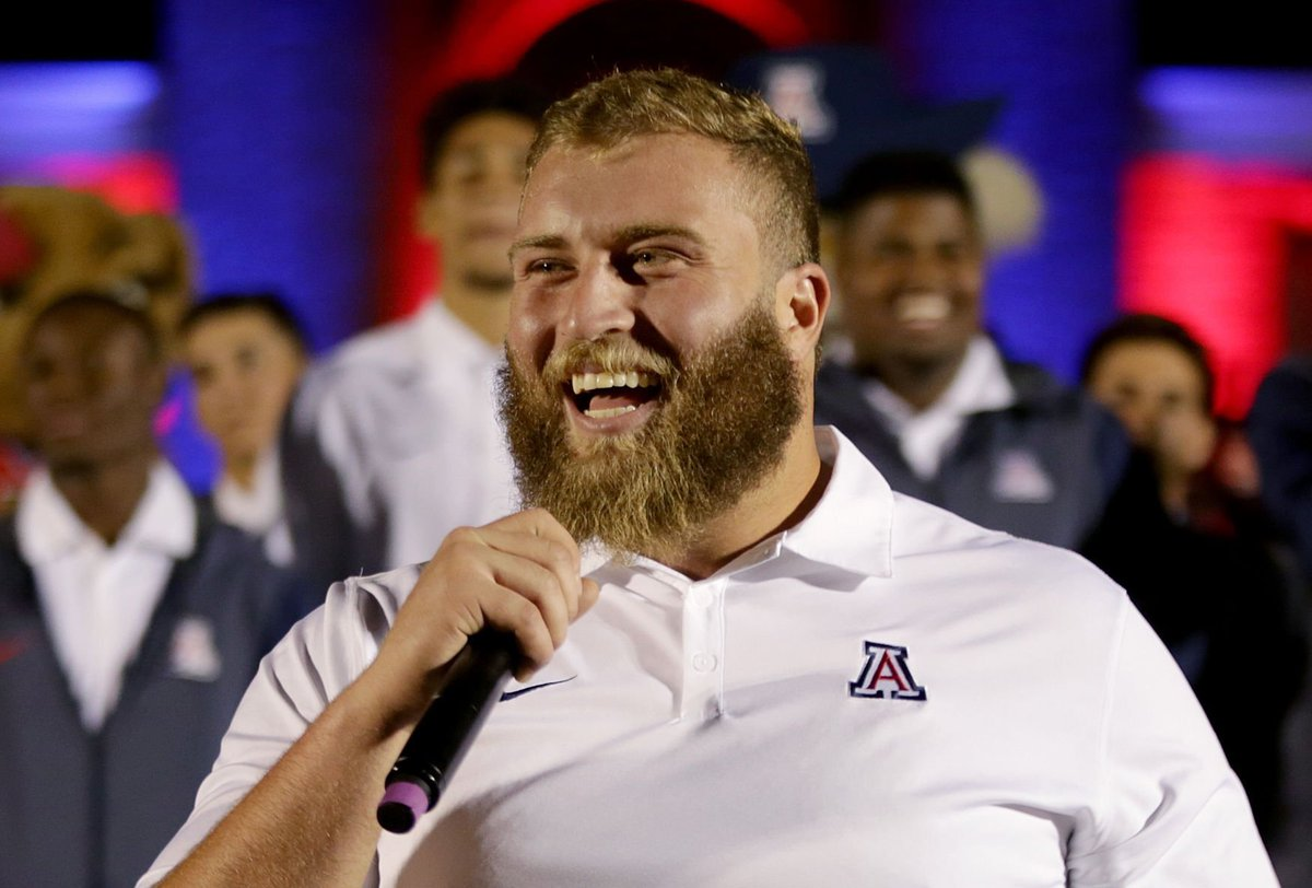 Athlon Sports names Arizona senior guard Jacob Alsadek to All-Pac-12 first team; several Wildcats honored https://t.co/xuBr65l8OY
