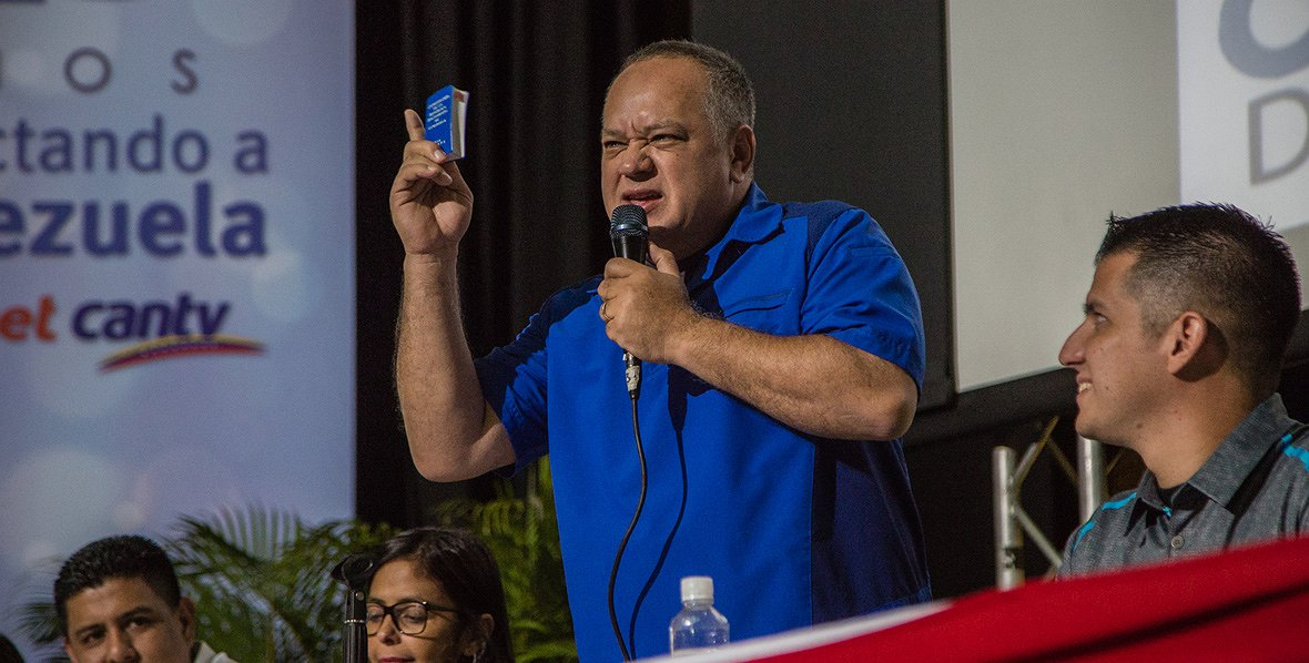 RT: @unionradionet :Cabello descartó cambios internos en el CNE para presidenciales https://t.co/mWCMqML0j4 https://t.co/KmDMY73U1T