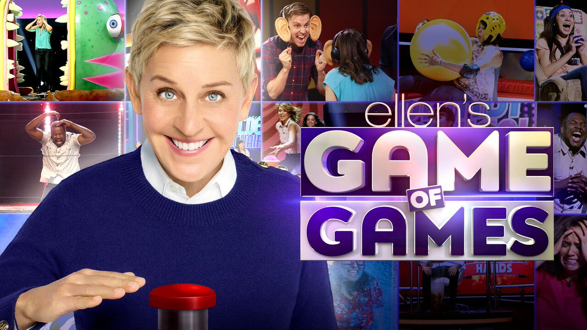 Here's a first look at my new show, #Gam...