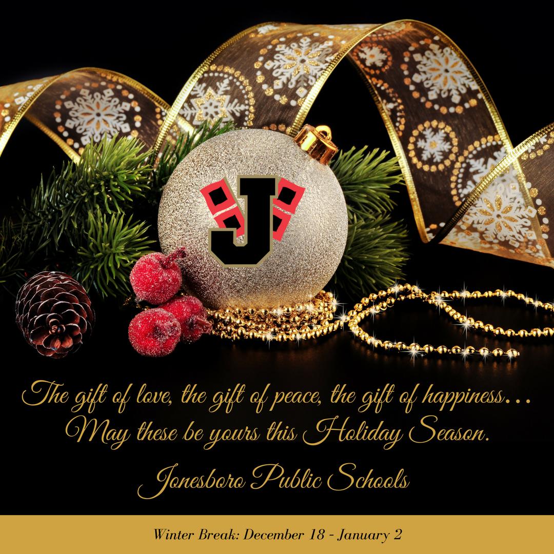 Jonesboro Schools On Twitter Seasons Greetings To All Of Our