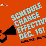 Very minor schedule adjustment on SB and IEOC lines only starting Sat., Dec. 16 https://t.co/p9Aqef1XJ1