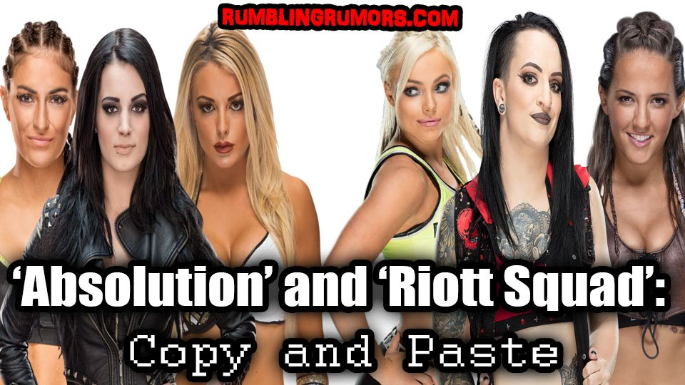 'Absolution' and 'Riott Squad': Copy and Paste   https:// wp.me/p7OumM-3al  &nbsp;    #WWE #ABSOLUTION #RIOTTSQUAD #RAW #SMACKDOWNLIVE #NXT<br>http://pic.twitter.com/EgV1xIqcve