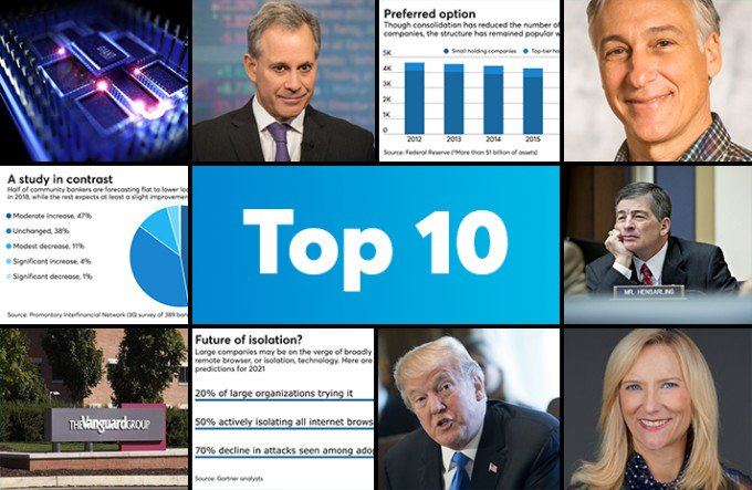 JPM leadership, Trump & Wells and more: American Banker's Top stories of the week https://t.co/sXRhzAmSQD