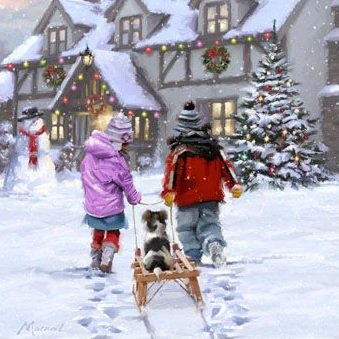 &#39;To Tired To Walk&#39; by Richard Macneil #art <br>http://pic.twitter.com/rh1Y653mKk