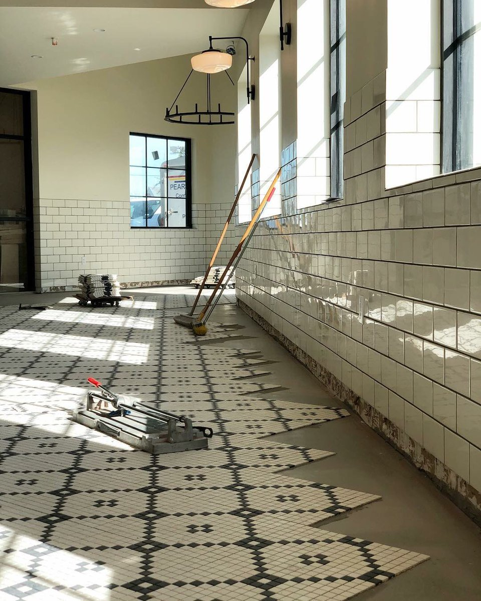 Joanna Gaines On Twitter Floors Are Getting Installed At Magnolia - Magnolia table restaurant waco texas
