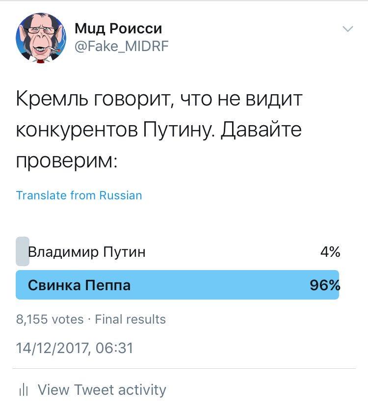 В России официально началась избирательная президентская кампания - Цензор.НЕТ 4842