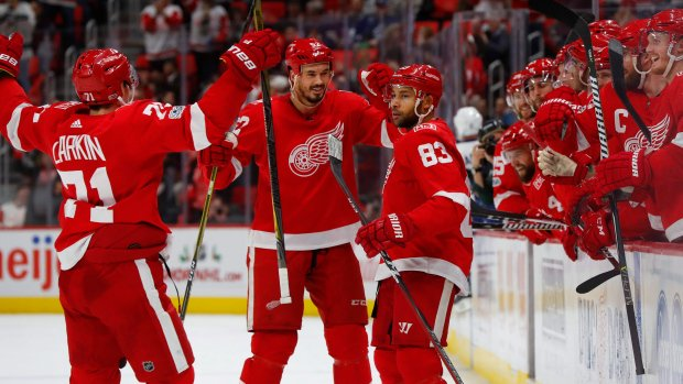 Leafs' struggles continue as Red Wings hand them 3rd loss in a row https://t.co/OHbhMPKDxQ