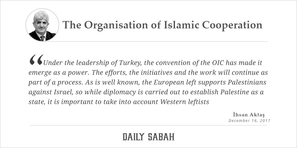 The Organisation of Islamic Cooperation...