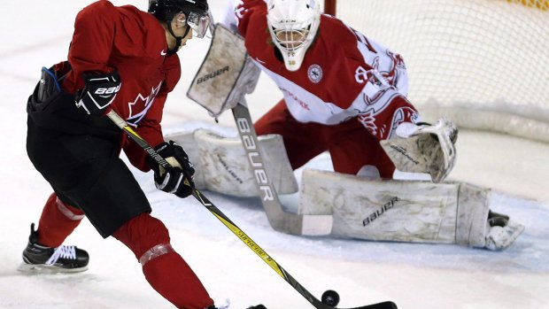 Canadian juniors fill net vs. Denmark in tournament tune-up https://t.co/3R70Q1hCCY