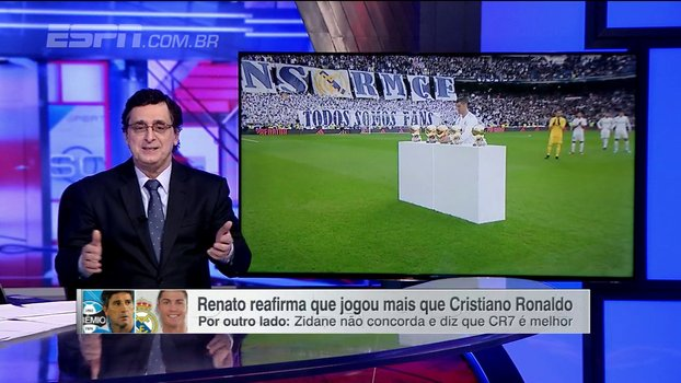 Renato Gaúcho ou Cristiano Ronaldo? Antero Greco diz que prefere Zidane https://t.co/91MfjkhaoW