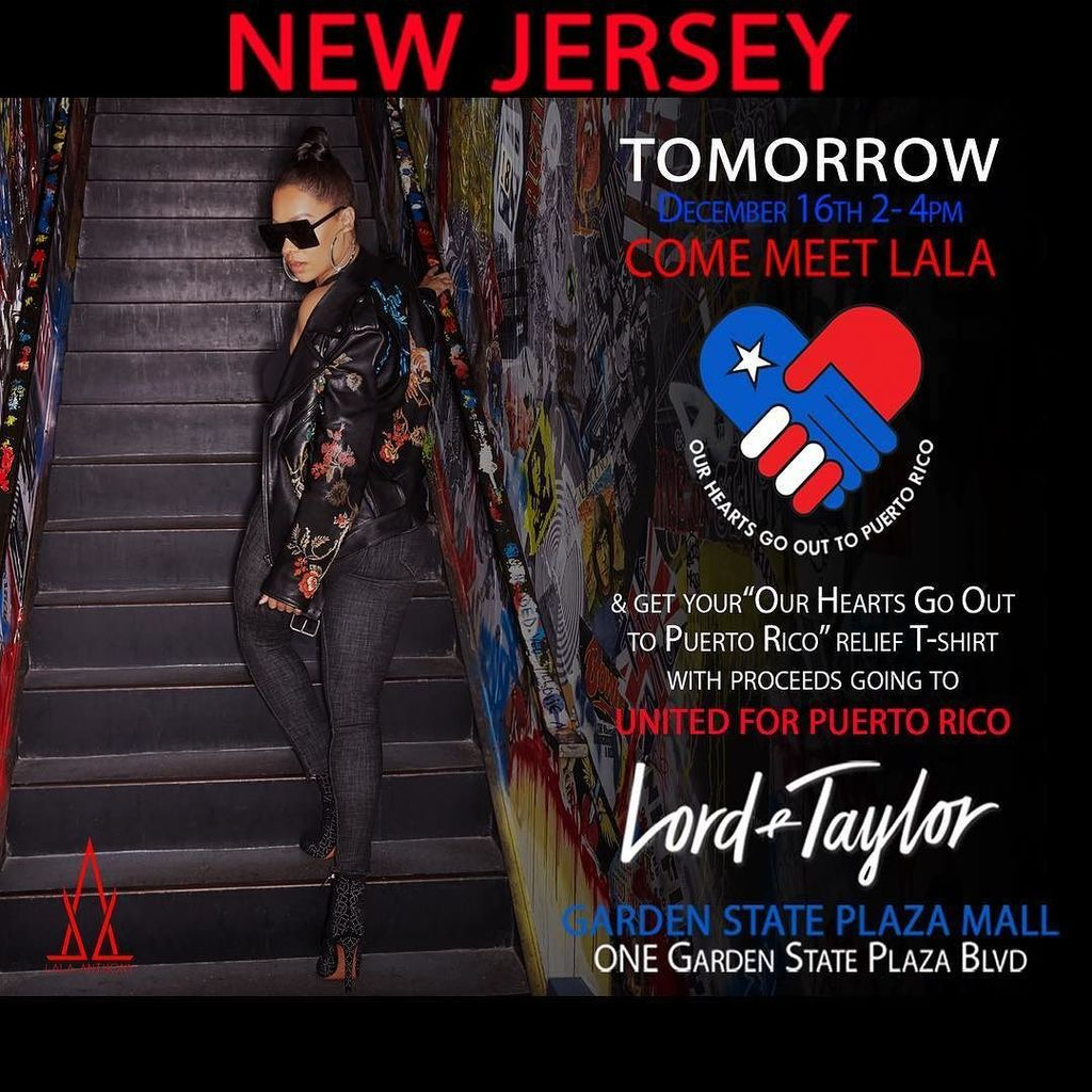 La la lala twitter for Lord and taylor garden state plaza