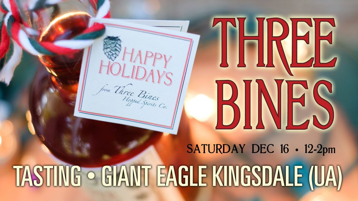 patrick will be at kingsdale giant eagle market district at noon today come by and see him for a sample we just may knock your stockings off - Giant Eagle Christmas Hours