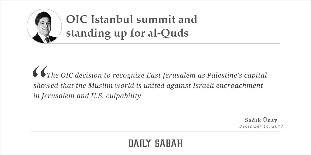 OIC Istanbul summit and standing up for...