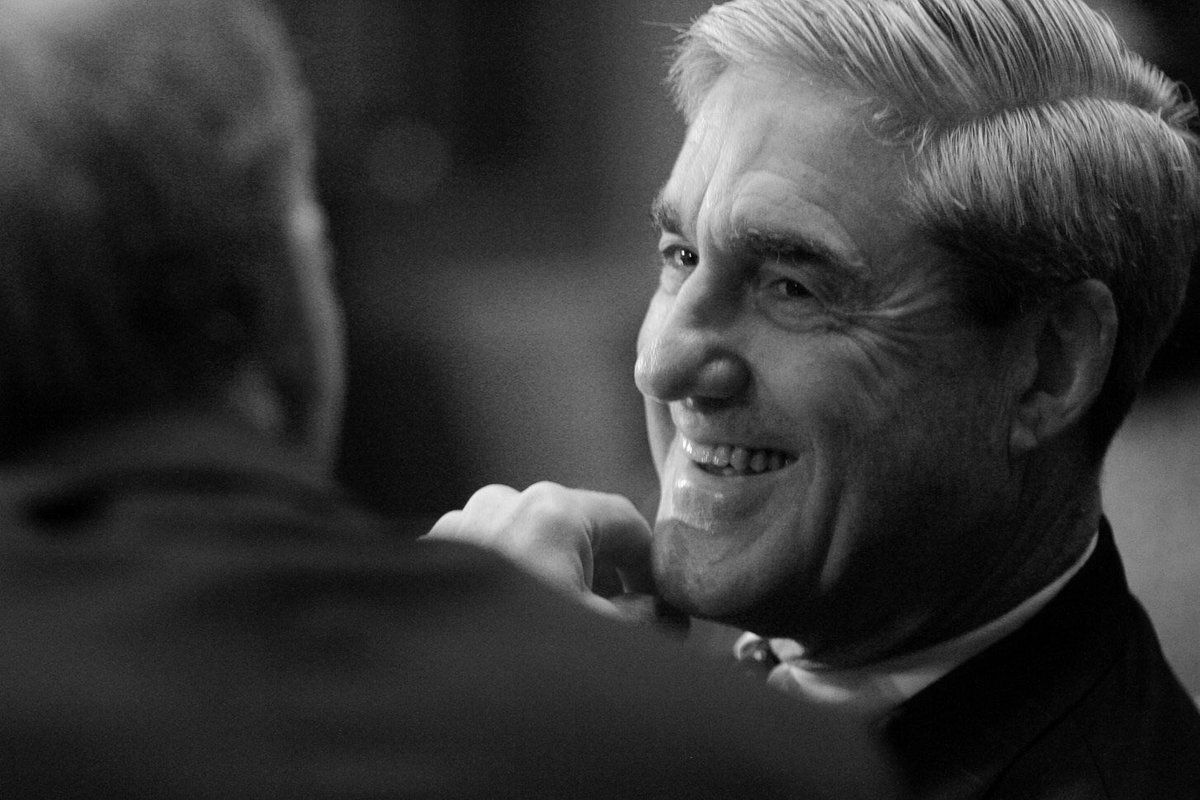 Robert Mueller:  -Guided America through 9/11  -Awarded the Bronze Star with Combat 'V' for valor in battle  -The Purple Heart -Navy and Marine Corps Commendation Medal w/ Combat 'V' for valor -The Vietnam Gallantry Cross   He is an American hero.   His attackers are a disgrace.