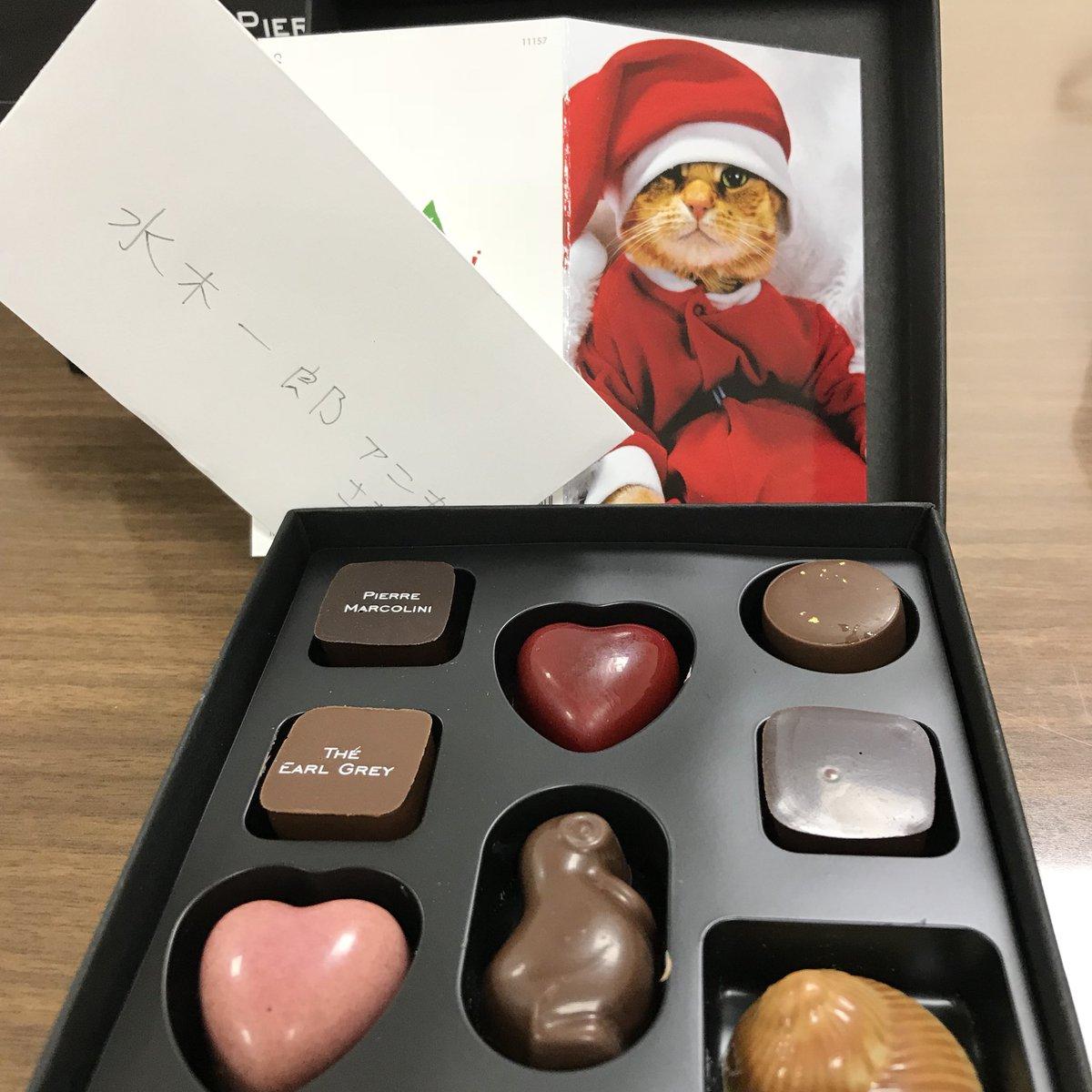 RT @aniki_z: 「アニソンアカデミースペシャル」が始まる前にしょこたんからクリスマスプレゼントをいただいたゼーット! #aniaca  #nhkfm  #中川翔子  #水木一郎 https://t.co/0TvtXU0Ggs