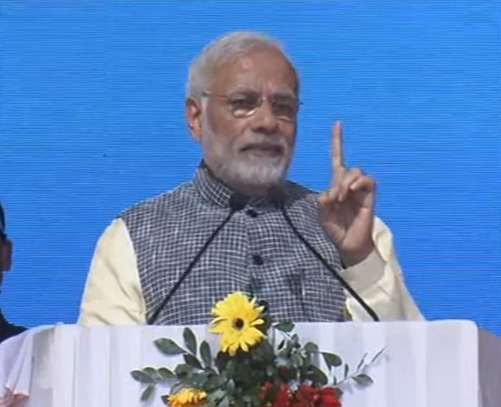 In the spirit of 'सबका साथ, सबका विकास' every Indian, irrespective of caste, gender, religion, class must have equal opportunities to partake in the new prosperity : PM @narendramodi, Watch at https://t.co/XqYiFhBXU3
