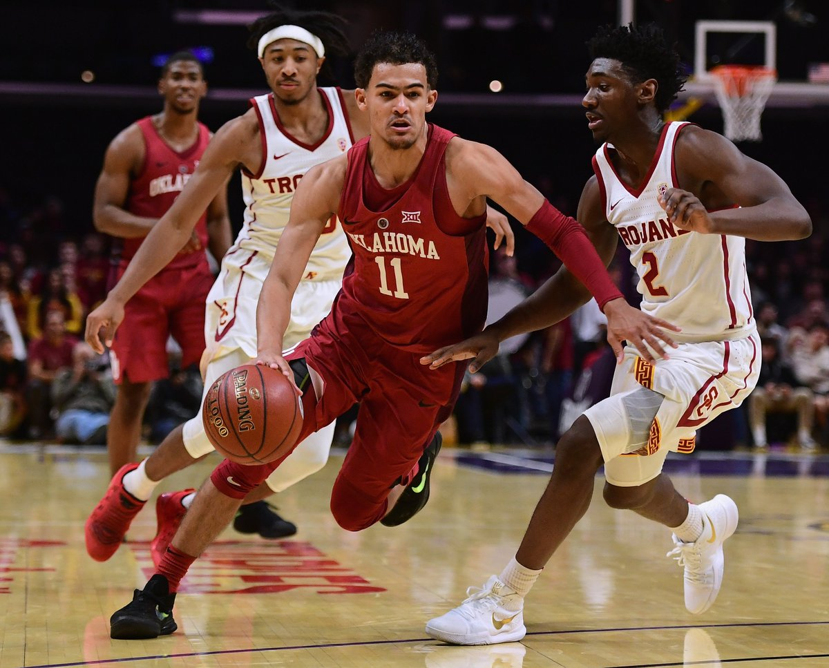 Trae Young (28.8 PPG this season) is on pace for the most PPG in Big 12 history.
