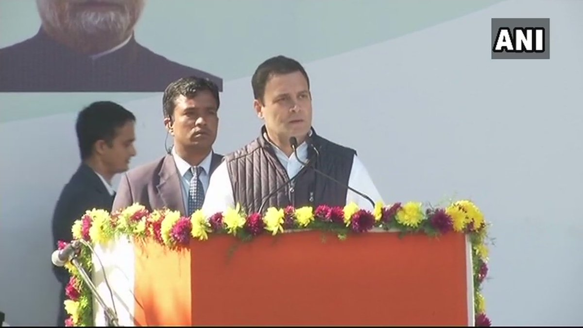 Many of us are disillusioned by politics of our time. Today, politics is devoid of kindness and truth: Congress President Rahul Gandhi