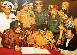 A tribute.. a salute and in gratitude to our soldiers who made history on this day, 46 years back. We all are extremely proud of you. 🇮🇳✌️👌💪✅ #VijayDiwas