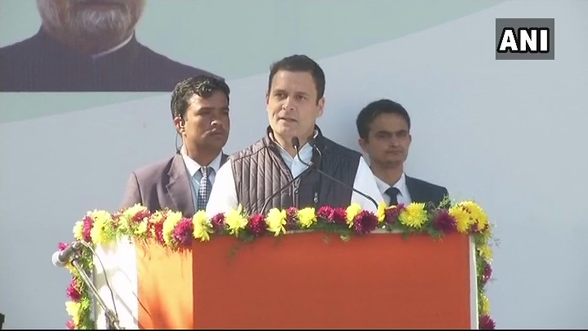 Congress took India to 21st century, but the PM, today, is taking us back to the medieval times: Rahul Gandhi