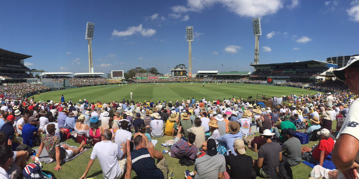 What a day! 🏏☀️ #Ashes