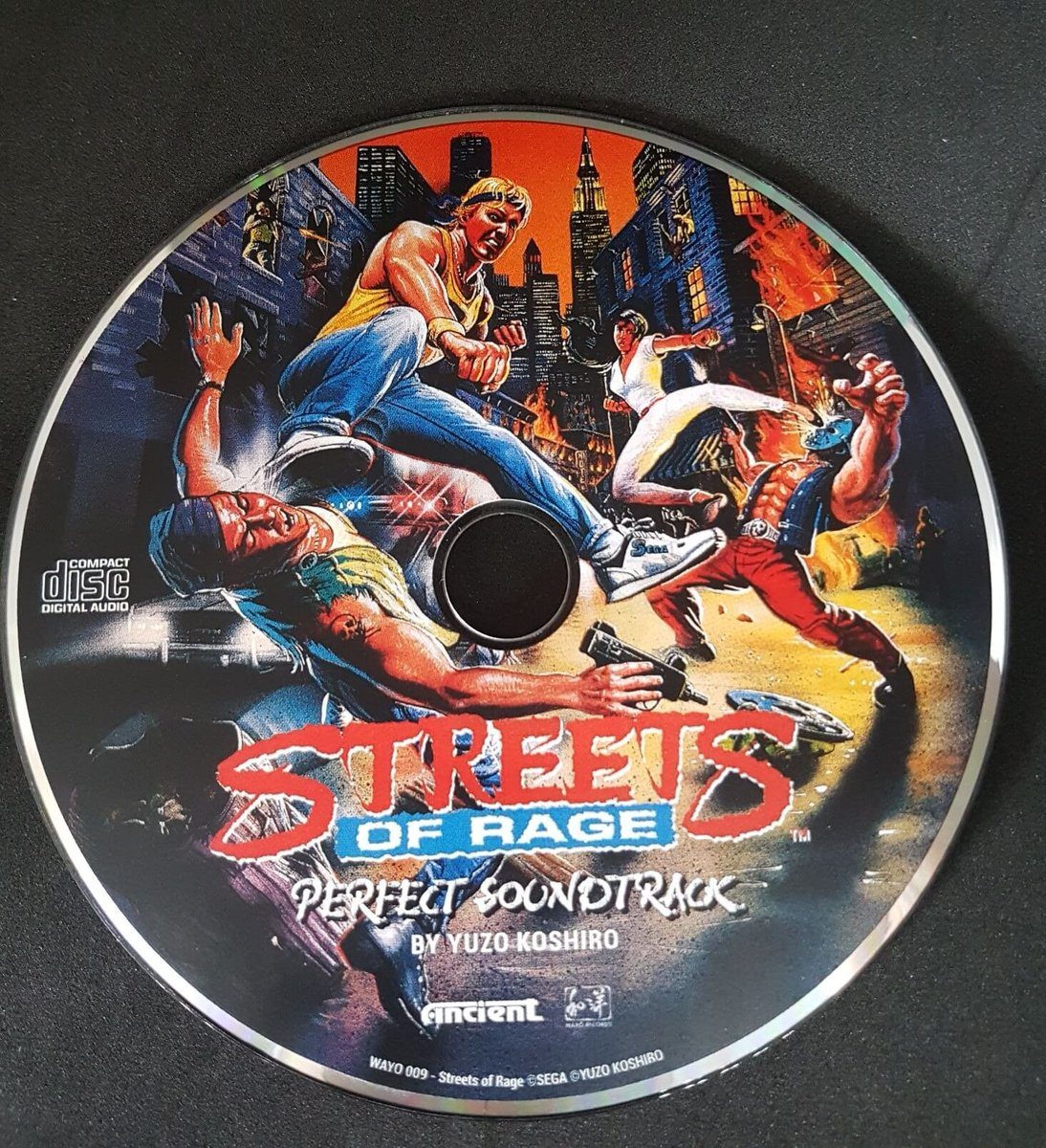 DATA DISC Streets of rage 3 ( vinyl ) DRJh434X0AAYIVS