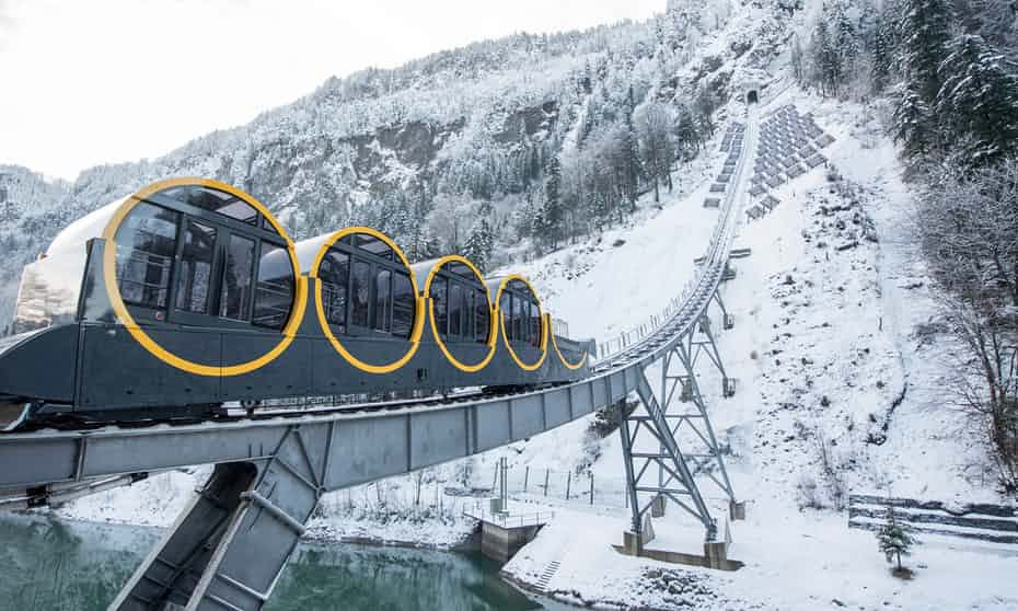 World's steepest #funicular rail line to...
