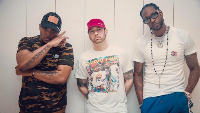 """mr. porter says 2 chainz had an """"incredible"""" verse on eminem's """"chloraseptic,"""" but it didn't fit their vision for the song https://t.co/PMaj2mdC1b"""