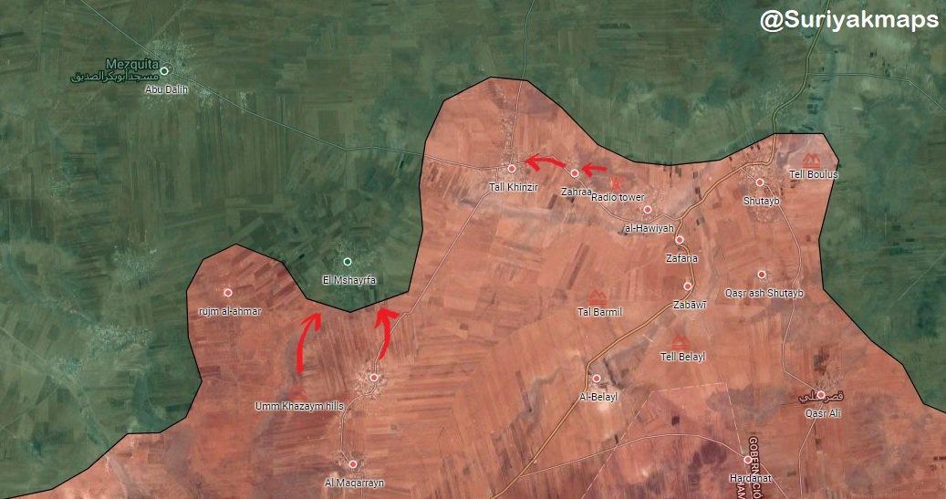 Suriyak on Twitter Idlib SAA liberated Zahraa Tall Khinzir