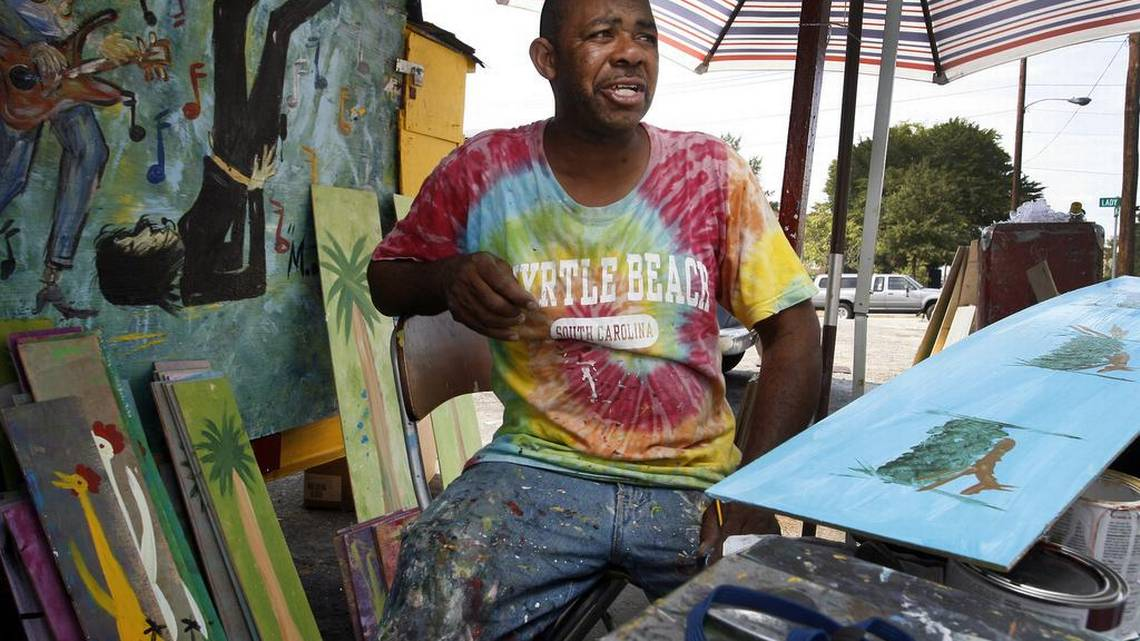 Columbia's beloved 'Chicken Man' Ernest Lee in search of stolen art trailer https://t.co/OrcAalGCAY