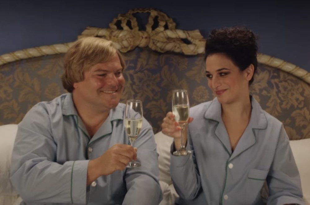 The trailer for @jennyslate and Jack Black's new Netflix movie is here, and it's ridiculously absurd in a good way https://t.co/M7cVP8VuJC