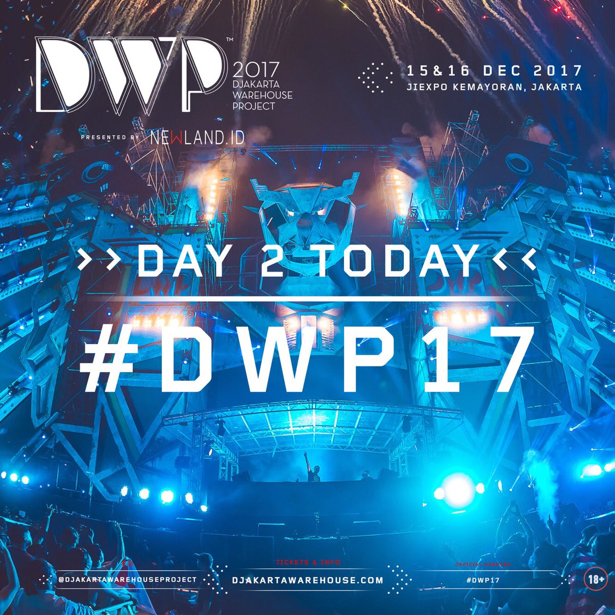 Dwp17 Banmuonkiemtien Tiket Dwp Djakarta Warehouse Project 2017 2 Day Pass At And Elrow S Debut In Asia Giving You A