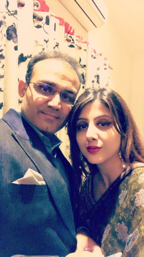 Where there is love, there is life. Happy birthday @AartiSehwag !