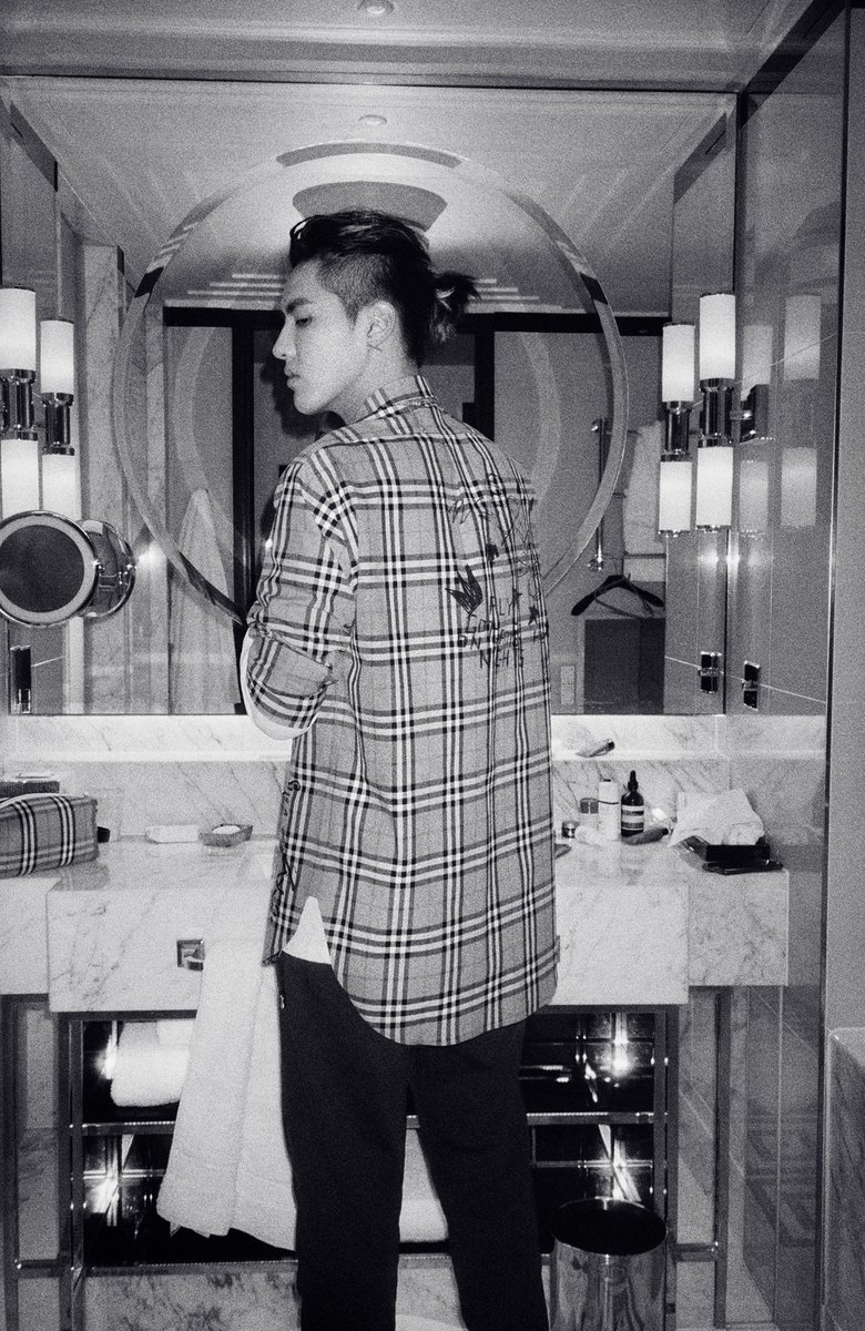 Kris Wu pictured in a #BurberryXKrisWu Vintage check shirt. Shop the new collection https://t.co/NKHJyby5x0