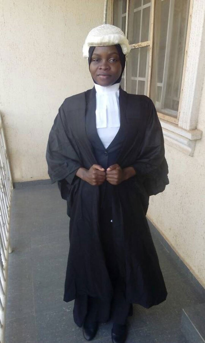 Nigerian law graduate denied call to bar over hijab https://t.co/rOVVzjlHQ1