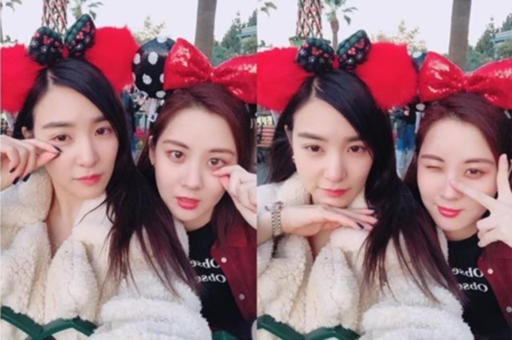 Girls' Generation's Tiffany and Seohyun enjoy a Disneyland date! https://t.co/ANqgUTHCgv